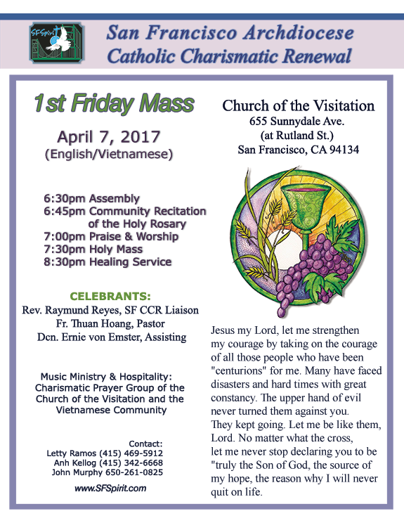 1st Friday Mass