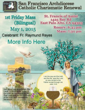 First Friday Mass May 2015