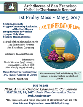 First Friday Mass May 2017